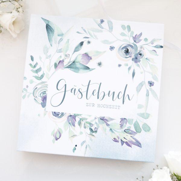 Gästebuch zur Hochzeit | Blue Love
