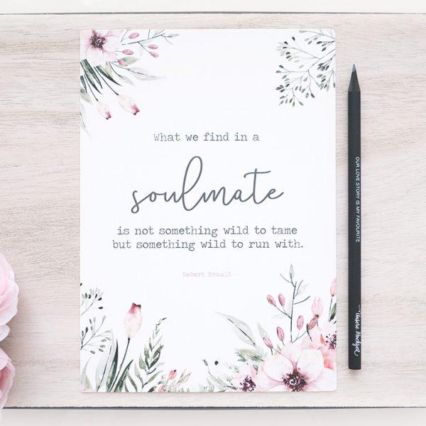 "Print ""Soulmate"" DinA5 | Wild Flowers"