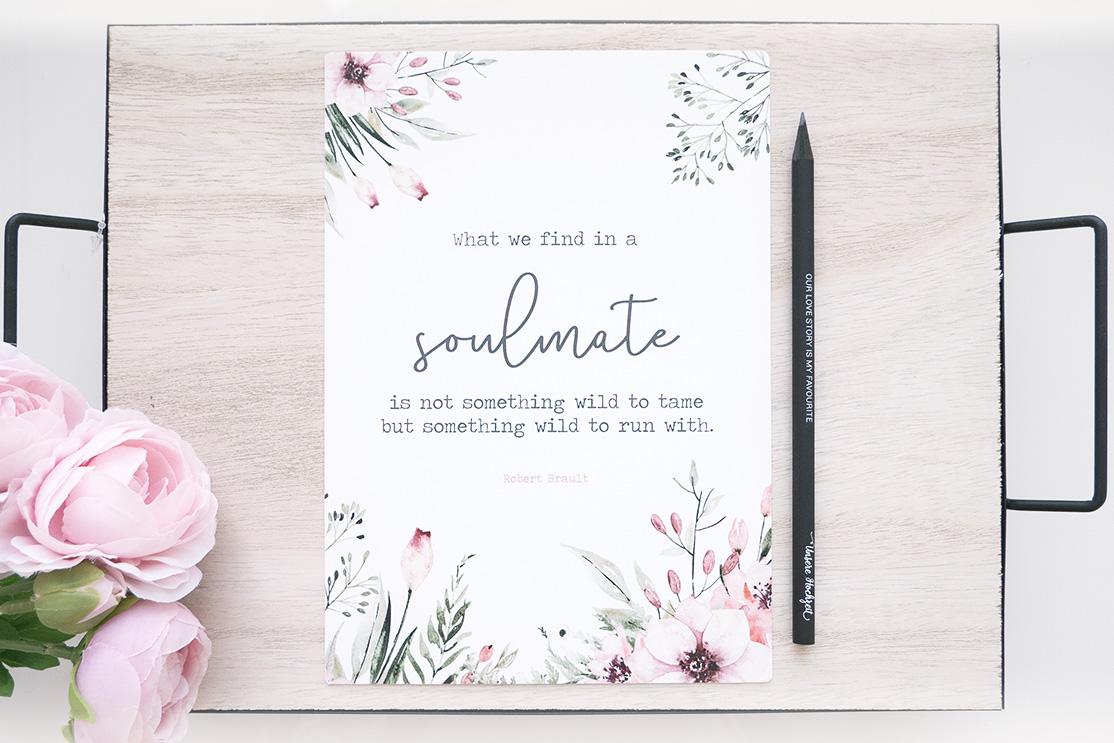 "Print ""Soulmate"" DinA5   Wild Flowers"
