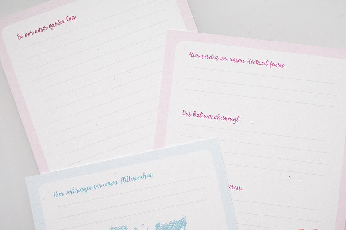 Meilensteinkarten | Für deine Hochzeits-Erinnerungen