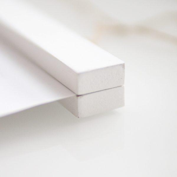Poster-Aufhängung, magnetisch | weiß