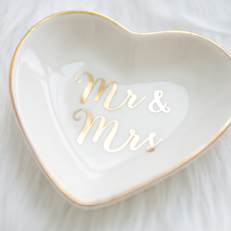 "Ringschale ""Mr & Mrs"" | Porzellan"