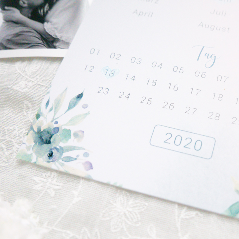 Save the Date Karten | Blue Love