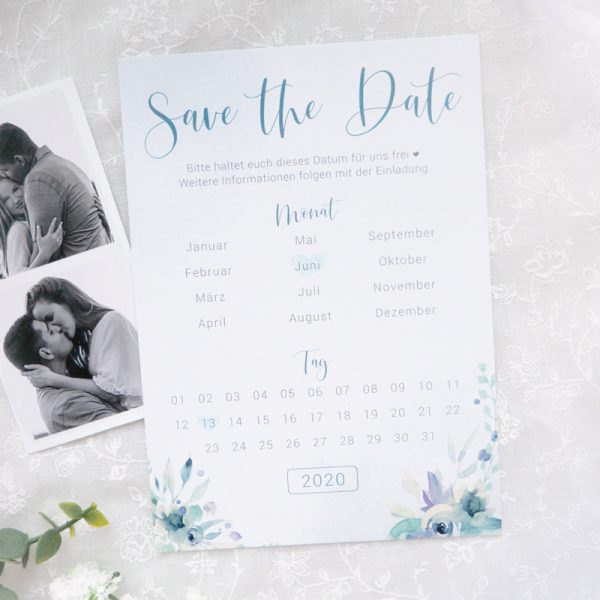 Save the Date Karten | Blue Love