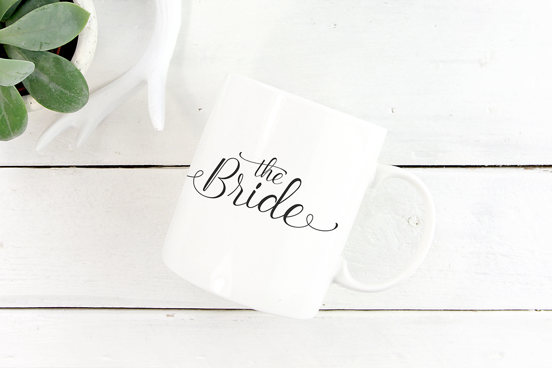 "Tasse ""The Bride"""