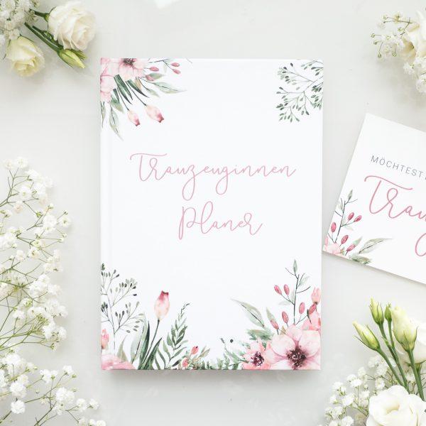 [B-Ware] Trauzeuginnen-Planer (mit GRATIS Postkarte)   WILD FLOWERS