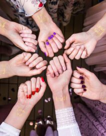 tattoo-jga-team-braut-bride-gold-idee-besonders-jga-junggesellinnenabschied-2